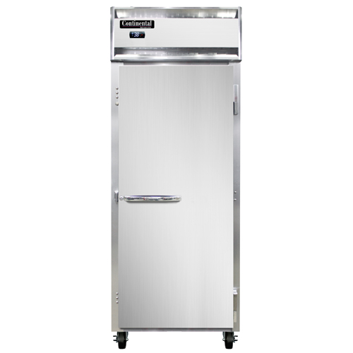 """Continental Refrigerator 1REN 28.5"""" W One-Section Solid Door Reach-In Extra-Wide Refrigerator"""