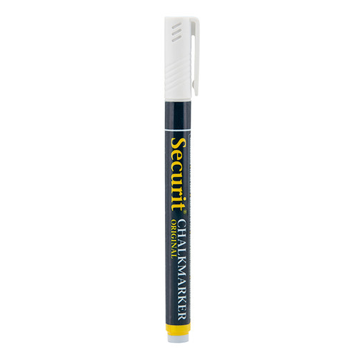American Metalcraft SMA100WT Mini Tip White Securit® Chalk Markers - 480 Each/Case