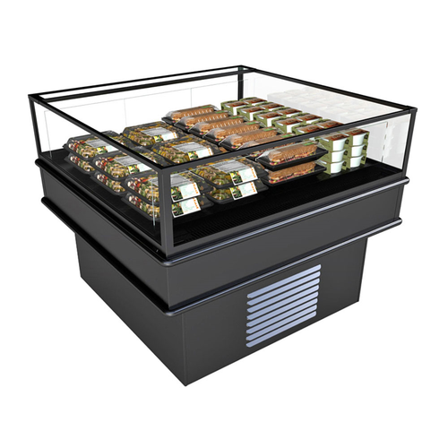 """Structural Concepts MI45R 62.13""""W Oasis Refrigerated Self-Service Island"""