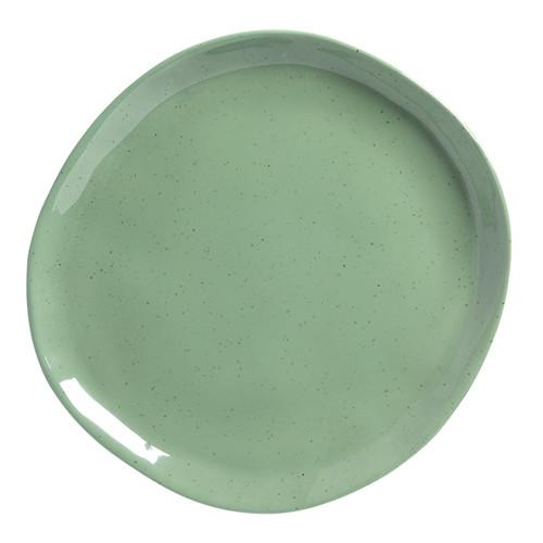 "American Metalcraft CP10SA  11""  Plastic  Green  Round  Plate"