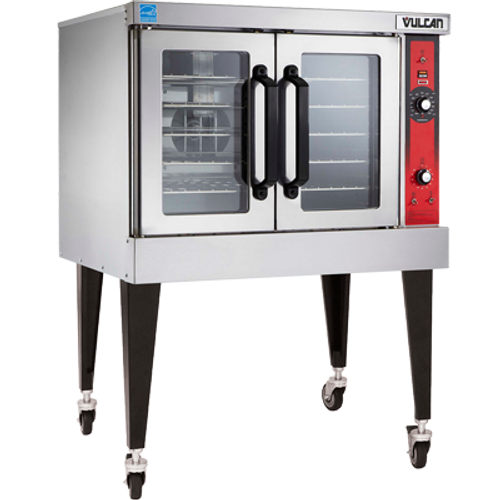 Vulcan VC4ED Electric Single Deck Convection Oven - 208 Volts