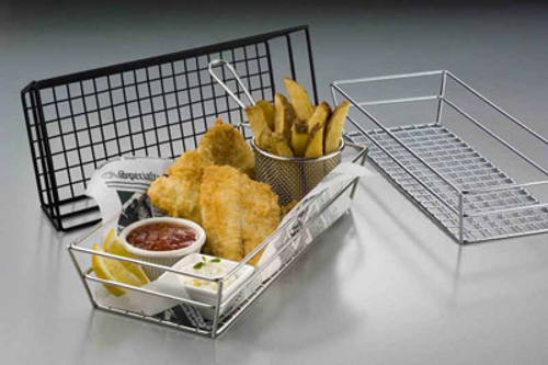 American Metalcraft GCRC1362  Metal  Rectangular  Tabletop Basket