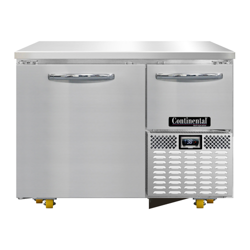 """Continental Refrigerator RA43N-U 43.19""""W Two-Section Undercounter Refrigerated Base"""