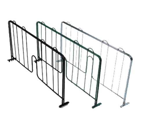 "John Boos EPS-D24-G Shelf Divider 24""W Green Epoxy Finish For Wire Shelving"