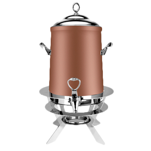 Eastern Tabletop 3205LCP 5 Gal Copper Finish Stainless Steel Luminous Coffee Urn