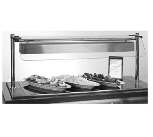 PiPer Products B26050-HS Berkeley Hotplate With Hot Spot 2 Section 1204 Mm Long X 500 Mm Deep Built-In Electric