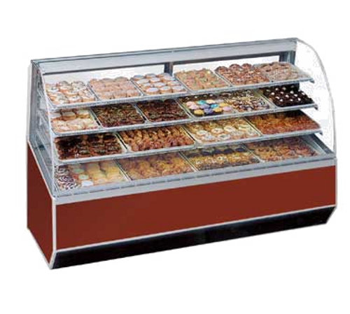 "Federal Industries SN59 59.25""W Series '90 Non-Refrigerated Bakery Case"