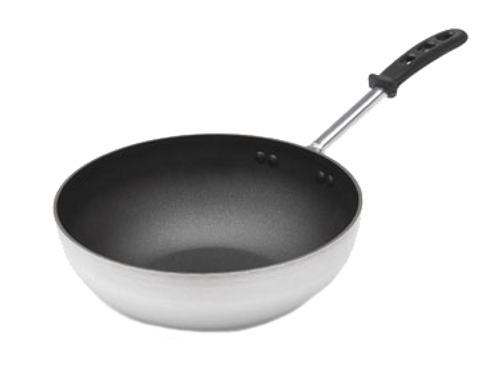 Vollrath 68120 Aluminum / Stainless Steel Stir Fry