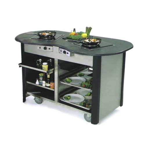 Lakeside 63070 Mobile Cooking Cart Induction Heat Stove