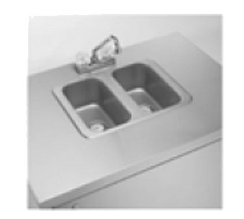 Crown Verity CV-PHS-2 Portable Sink