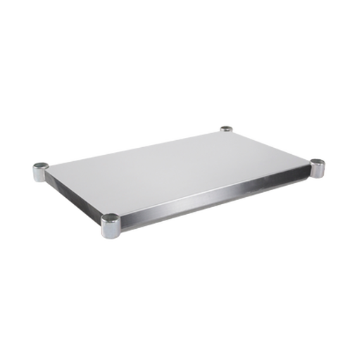 "John Boos ESSK8-2472 72""W x 24""D Stainless Steel Work Table Undershelf"