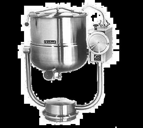 Cleveland KDP60T 60 Gallon 2/3 Steam Jacket Design Kettle