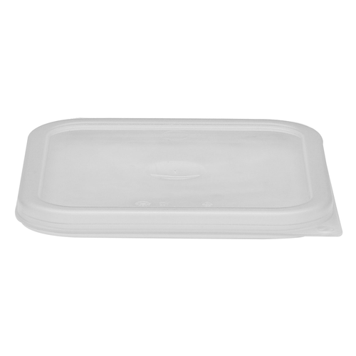 Cambro SFC6SCPP190 6 & 8 qt Clear Square Food Pan Seal Cover - 6 Each/Case