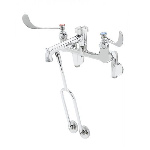 "T&S Brass B-0655-01 Service Sink Faucet vacuum breaker nozzle with 3/4"" garden hose thread"