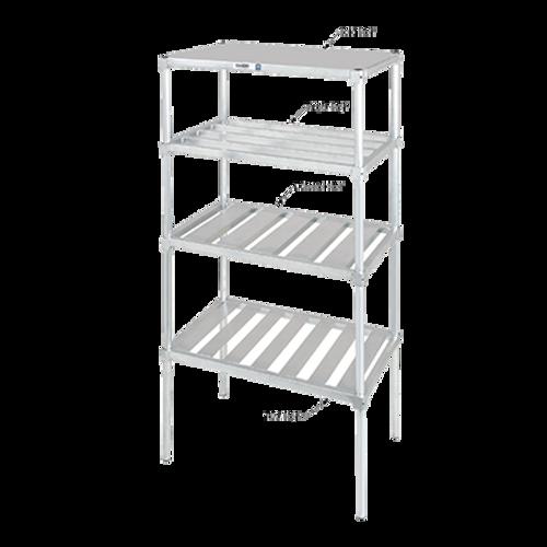 """Channel EC2060 Shelf 4"""" E-Channel 60""""W Aluminum Construction"""