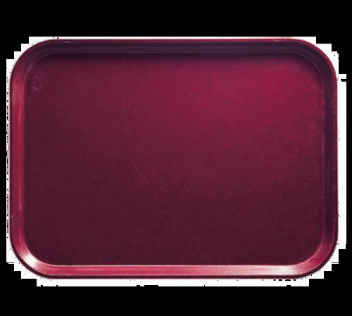 """Cambro 1520522 15"""" Burgundy Rectangle Camtray®"""