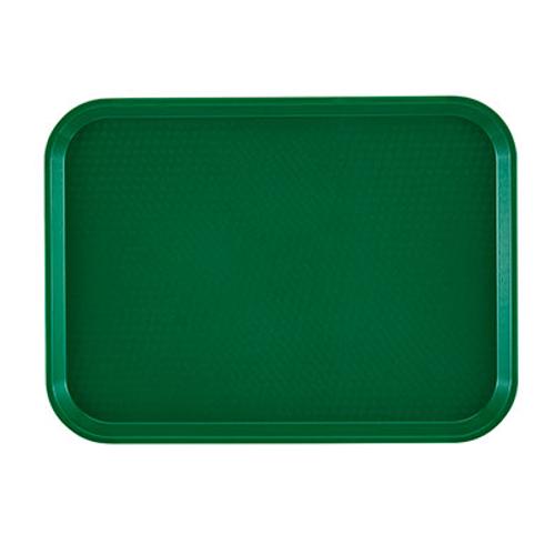 """Cambro 16225119 16-1/2"""" Green Rectangle Camtray®"""