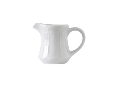 Tuxton CHR-125 China Creamer/Pitcher 12 Oz. Porcelain White - 1 Dozen Per Case