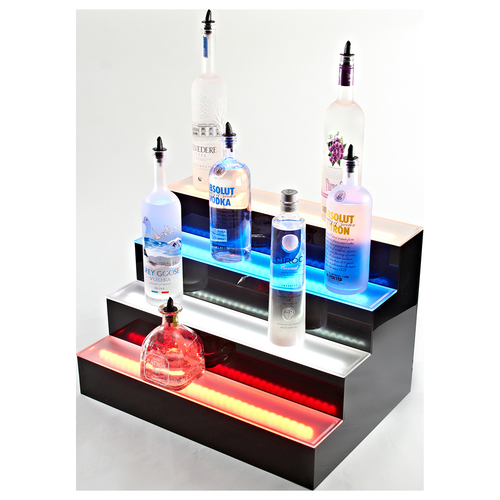 "Beverage Air LBD4-60L 60""W Acrylic Lighted Liquor Display"