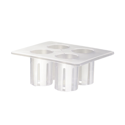 """Cal-Mil 3300-RACK 13""""W Plastic / poly - Salad Dressing Caddy Rack Only"""