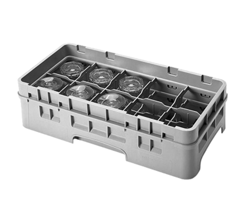 Cambro 10HS318167 Camrack Glass Rack With Soft Gray Extender