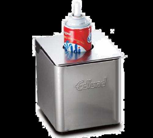 Edlund CSR-016B Black Stainless Steel Cold Pan Box