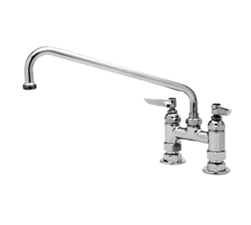 T&S Brass B-0225-M Mixing Faucet deck mount 12""