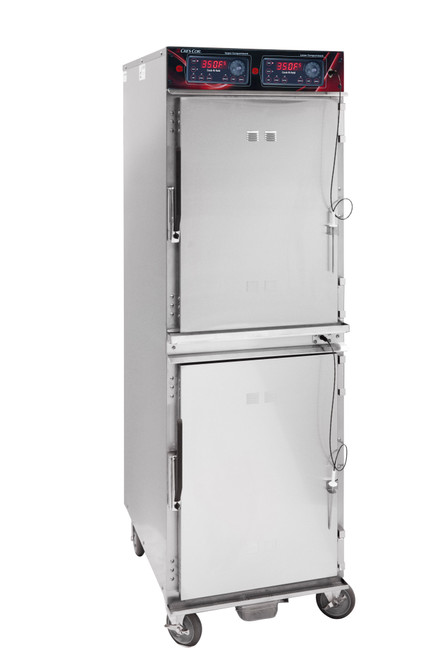 Cres Cor 1000-CH-AL-2DX Full Height Stainless Steel Cook-N-Hold Cabinet - 208-240 Volts
