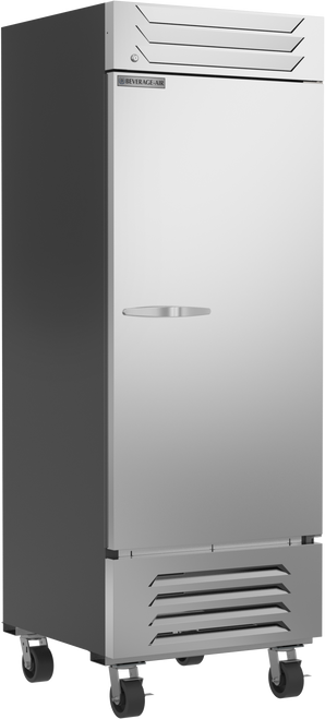 """Beverage Air SR1HC-1S 30.06"""" W One-Section Solid Door  Slate Series Refrigerator"""