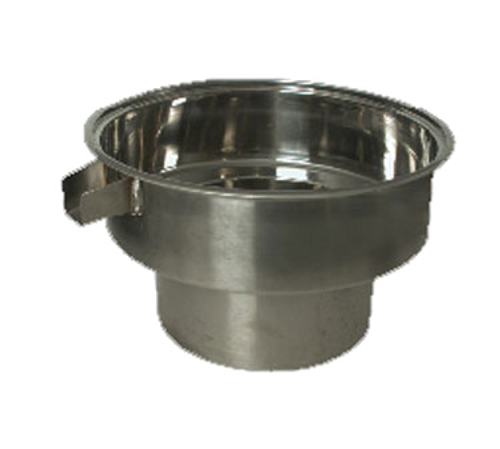 Town 229012B Blanch Pot With Overlow 18 Quart Stainless Steel