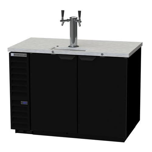 "Beverage Air DD50HC-1-B 50.5""W Draft Beer Cooler"