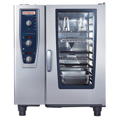 Rational B119206.19E202 Natural Gas Combi Oven/Steamer - 208 Volts