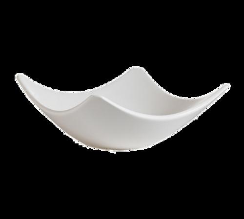 CAC China SHA-H8  Porcelain  Bone White  Square  Accessories Bowl