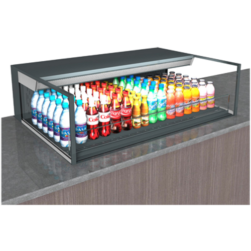 """Structural Concepts NE6013RSSV 59.75""""W Reveal® Self-Service Refrigerated Slide In Counter Case"""