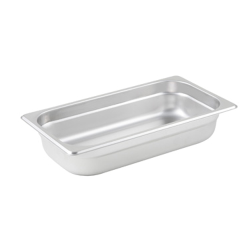 Winco SPJL-302 Steam Table Pan 1/3 Size