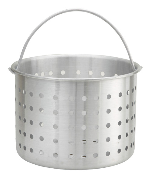 Winco ALSB-20 20 Qt Aluminum Steamer Basket