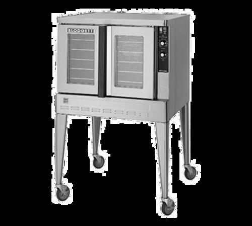Blodgett ZEPH-200-G ADDL Zephaire Natural Gas Single-Deck Convection Oven - 60,000 BTU