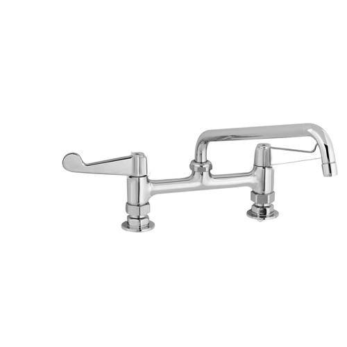"""T&S Brass 5F-8DWS10A Equip Faucet 8"""""""