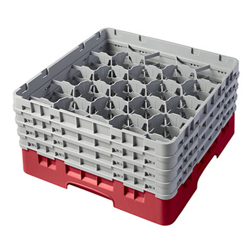 Cambro 20S800163 Camrack Glass Rack With (4) Soft Gray Extenders