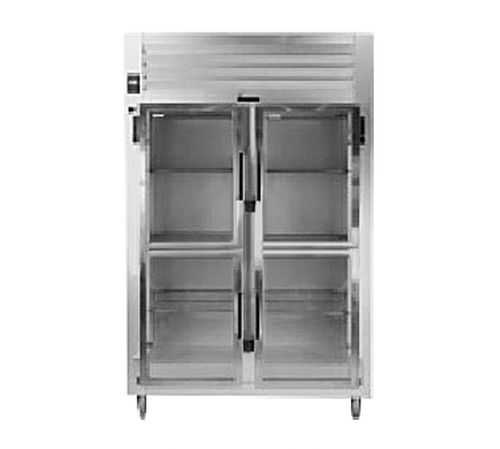 Traulsen AHT232NP-HHG Spec-Line Refrigerator Pass-Thru Display Two-Section