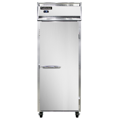 """Continental Refrigerator 1FESNSS 28.5"""" W One-Section Solid Door Reach-In Extra-Wide Freezer"""