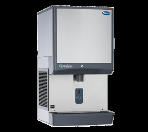 """Follett LLC 25CI425A-SI 21"""" Symphony Countertop Air Cooled Ice Maker / Dispenser -25lb."""