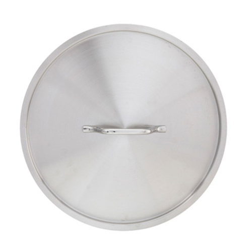 "Winco SSTC-80 19-3/4"" Dia Round Stainless Steel Cover"
