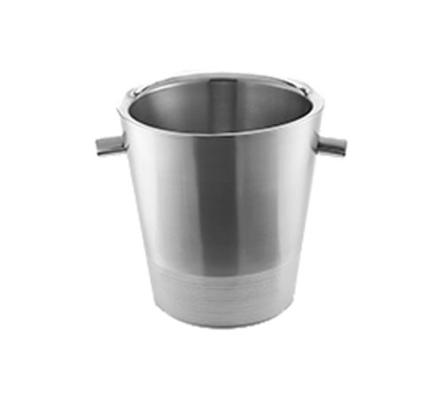 """American Metalcraft SDWC7 Stainless Steel Champagne Bucket 7"""" dia. x 7""""H - 4 Each/Case"""