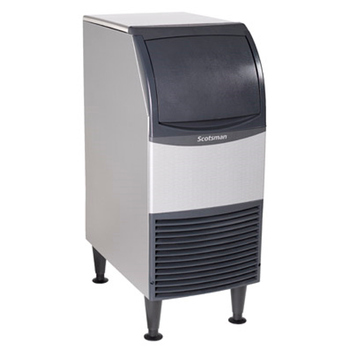 "Scotsman CU0715MA-1 15"" Air Cooled Cube Style Undercounter Ice Maker With Bin - 80 lb"