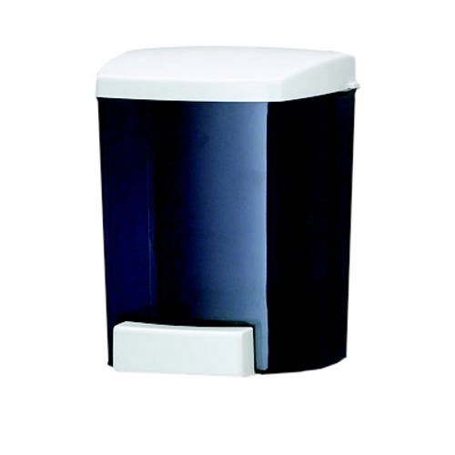 San Jamar S30TBK Classic Soap Dispenser Wall Mount 30-Oz. Capacity 4-1/8""