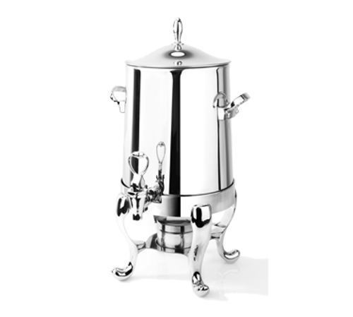 Eastern Tabletop 3115B 5 Gal Brushed Finish Stainless Steel Park Avenue Collection Coffee Urn