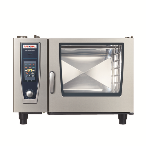 Rational B628206.19D Liquid Propane Combi Oven/Steamer - 103,800 BTU