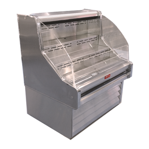 "Howard McCray SC-OS35E-4C 51""W Impluse Open Merchandiser"