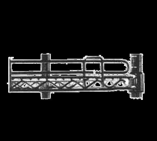 """Metro L14N-4Bl Super Erecta Shelf Ledge 14""""W Black Finish"""